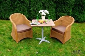Bello Giardino aiamööbel Lento laud + 2 tooli