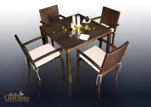 Bello Giardino aiamööbel Adorazione. Laud + 4 tooli