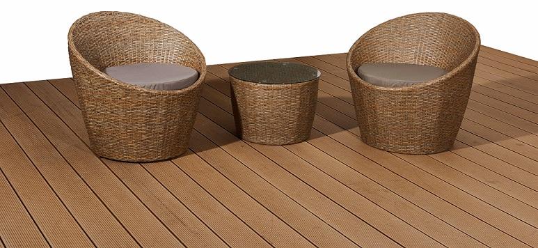 Bello Giardino aiamööbel MODICO. 2 tooli + laud