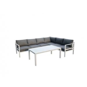 Bello Giardino aiamööbel Alluminium Grande diivan + laud