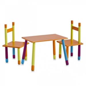 Laste komplektColor (laud ja 2 tooli)