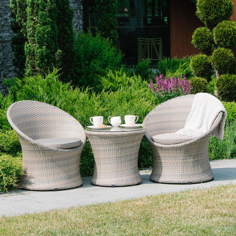 Komplekt NOCETO laud ja 2 tooli