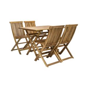 Komplekt FINLAY laud ja 4 tooli