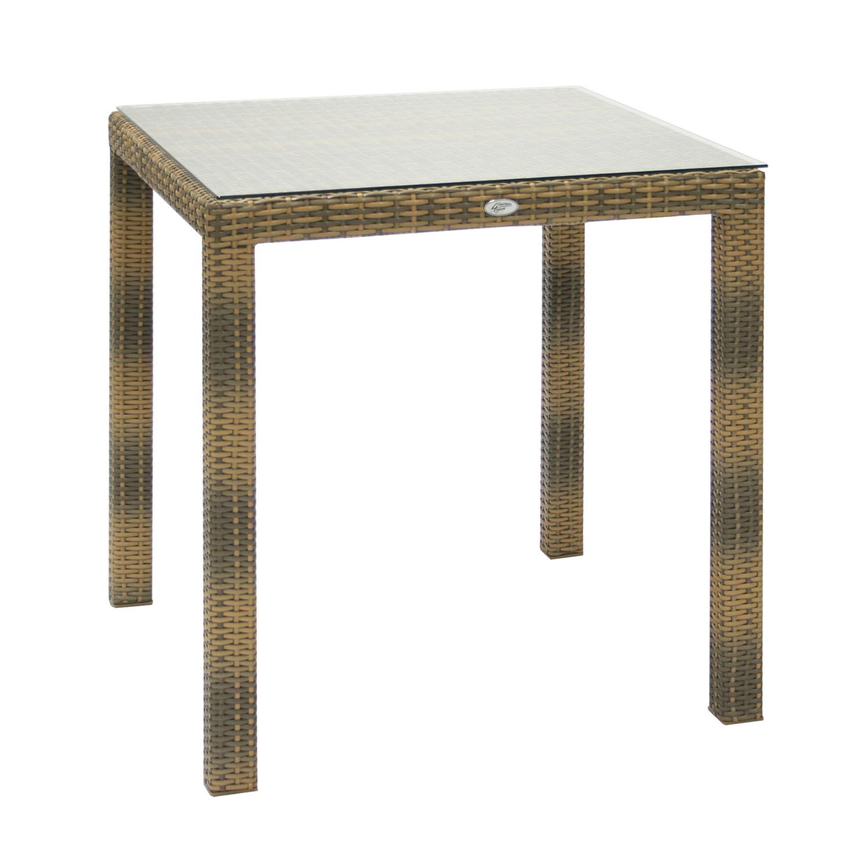 Komplekt WICKER laud ja 2 tooli