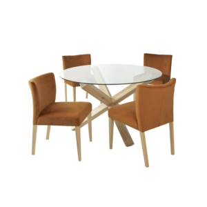 Söögilauakomplekt TURIN 4-tooliga 11325