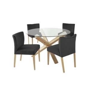Söögilauakomplekt TURIN 4-tooliga 11327