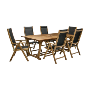 Komplekt FUTURE laud ja 6 tooli