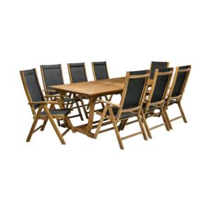 Komplekt FUTURE laud ja 8 tooli
