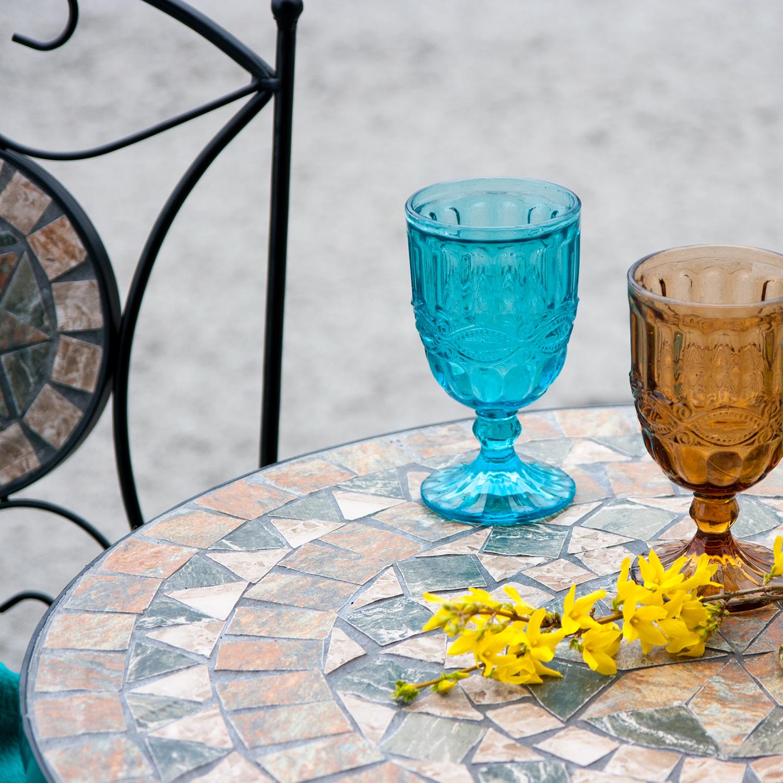 Komplekt MOSAIC laud ja 2 tooli